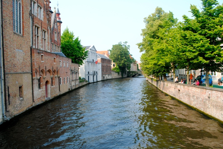 The canal in Bruges